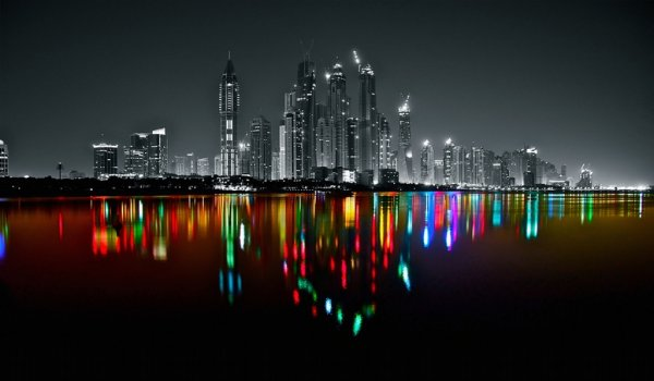 Dubai-Marina-Skyline-by-Platux-Modern-ART-Photography