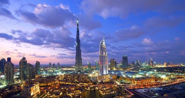 Dubai evening - Copy