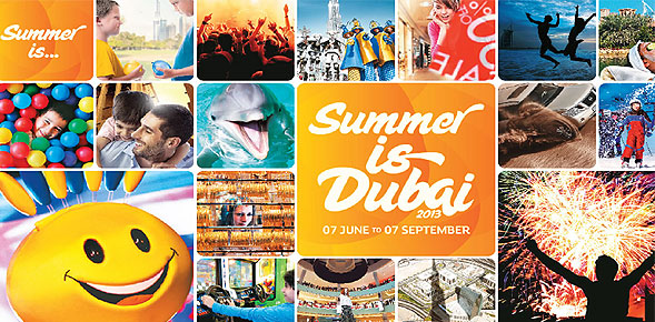 Summer is Dubai